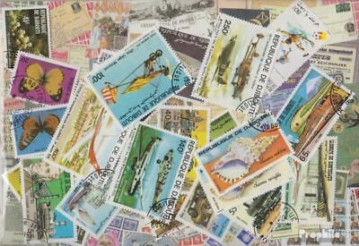 Djibouti Stamps-25 different stamps