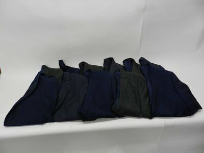 Job Lot of 12 Items Men's Clothing Suit Jackets Blue Grey RRP £950+