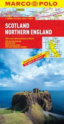 Scotland & Northern England Map by Marco Polo 9783829767804