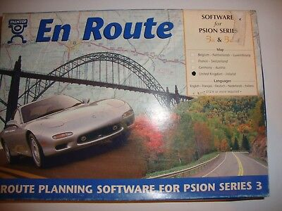 En Route Software for Psion Series 3a and 3c New and Boxed