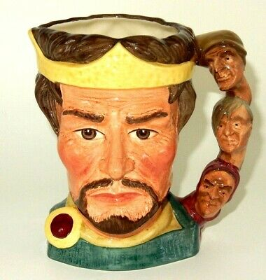 "Royal Doulton 1982 ""The Shakespearean Collection"" Macbeth Character Figure Jug"