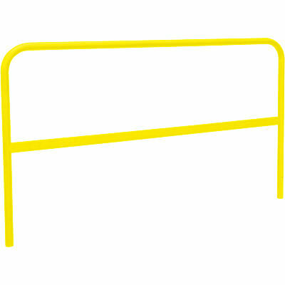RoofZone Universal Guardrail- Yellow 5ftL x 42inH Model# 70760