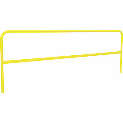 RoofZone Universal Guardrail- Yellow 10ftL x 42inH Model# 70758