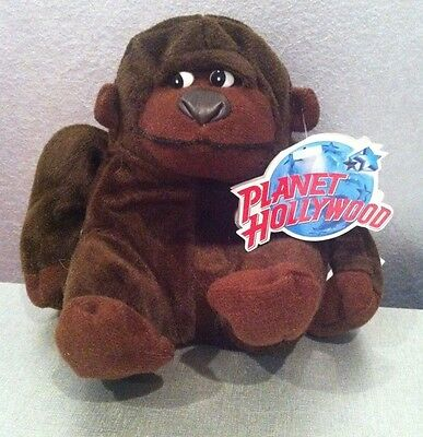 "PLANET HOLLYWOOD ""GEORGE""  5""-6"" Plush 1997 MINT W/MINT TAGS"