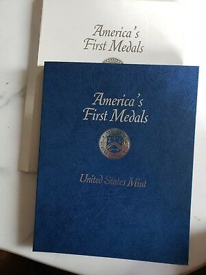 "1973 ""america's First Medals' Set  From The U. S. Mint"