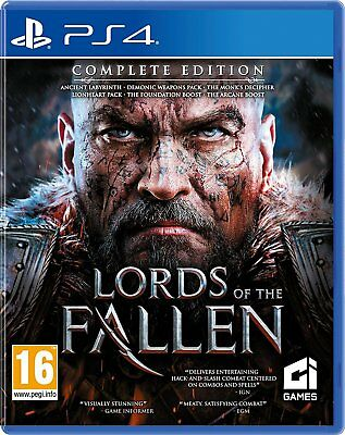 Lords of the Fallen Complete Edition For PS4 (New & Sealed)