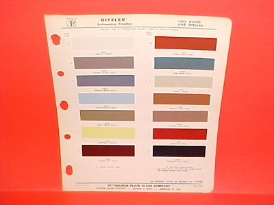 1964 Buick Riviera Wildcat Skylark Electra 225 Lesabre Special Coupe Paint Chips