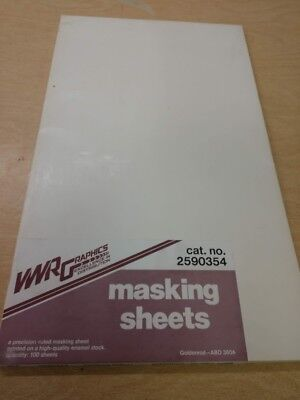 1 package unused offset printing supplies - masking sheets