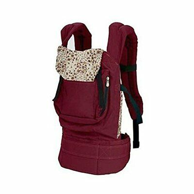 Cotton Baby Carrier Infant Comfort Backpack Buckle Sling Wrap Fashion,Red