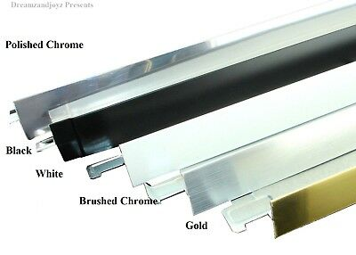C M C Black White Chrome Brushed Trim Cross Tee Section Ceiling Grid 600 mm 1200
