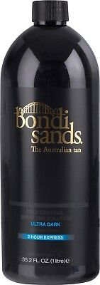 Bondi Sands Professional Spray Tanning Solution Tan Mist 1 Litre Ultra Dark