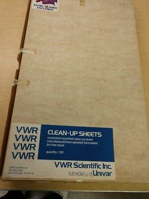 1 box unused offset printing supplies - offset cleanup sheets
