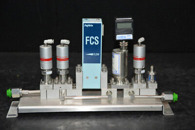 Fujikin FCS-4WS Mass Flow Assembly with Valves