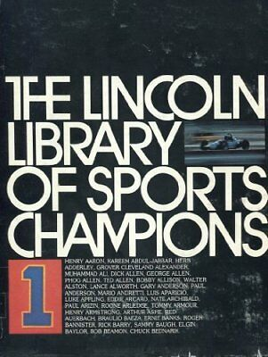 THE LINCOLN LIBRARY OF SPORTS CHAMPIONS VOLUME 1 (VOLUME 1) [Hardcover] [Jan ...