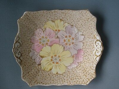 Tuscan Plant England Sandwich/serving Plate - Pretty Flowers - Rare Design