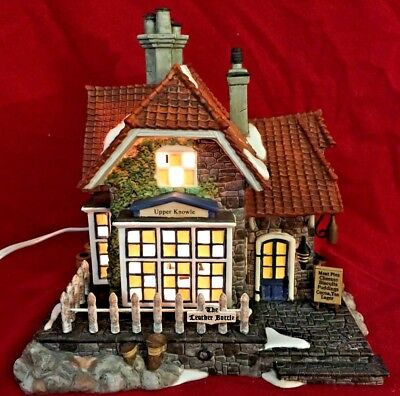 The Leather Bottle Dept 56 Dickens Village 58511 Christmas city inn tavern A