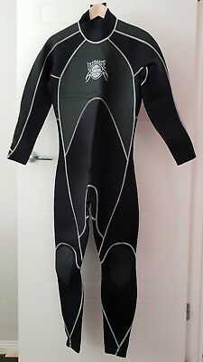 Rip Curl Ultimate 3x2mm Back Zip Wetsuit Steamer Size Medium Like New Great Cond