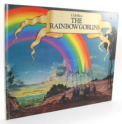 The Rainbow Goblins by Ul De Rico First Edition Warner Vintage Childrens Book !!