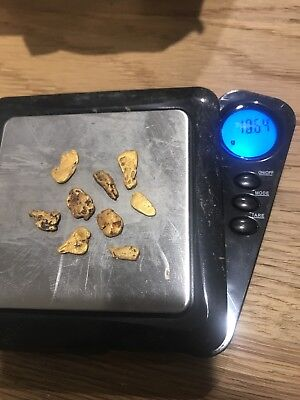 Victorian Gold Nuggets 10.64 Grams