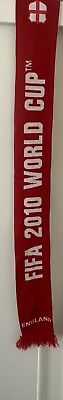 2010 Soccer World Cup 'England' Scarf