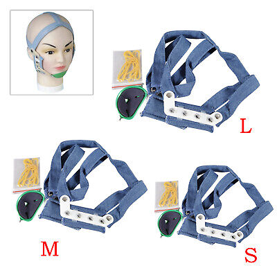 Dental Orthodontic High - Pull Headgear With Rigid Chin Cap High Pull Strap PSr