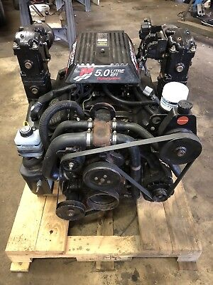 Mercruiser 5.0L 305 EFI TBI COMPLETE ENGINE - Only 264 Hrs! - Shipping Available