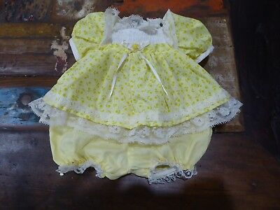 My Child Doll Original Pretty Yellow Floral Party Dress + Pants