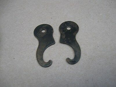 Antique Set Wheeler & Wilson Treadle Sewing Machine Drawer Hold Clips Pre Singer