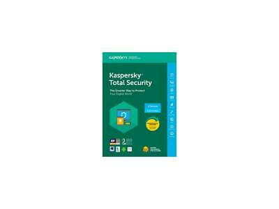 Brand new Kaspersky Total Security 2018 - 3 Devices/1 Year [Key Card] in the box