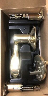 Schlage Handleset F359 ACC605 ACC 605 Interior Polished Brass Trim Left Hand LH