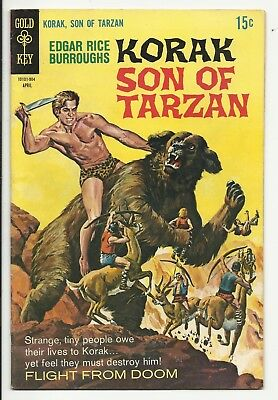 Korak Son of Tarzan #28 - Mabu, Jungle Boy - painted cover - Gold Key - FN 6.0