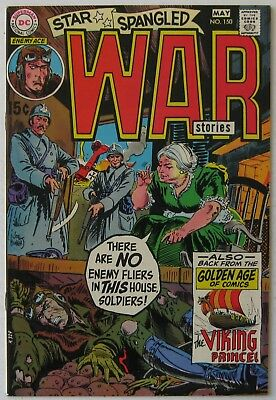Star Spangled War Stories #150 (Apr-May 1970, DC) NM+, Enemy Ace & Viking Prince