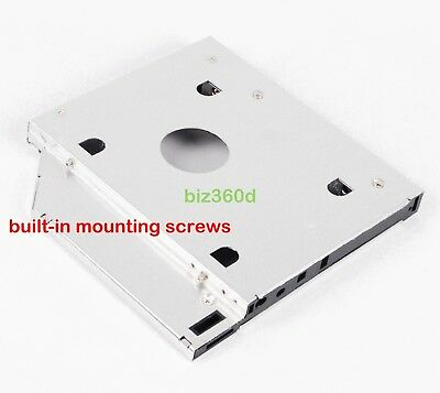 2nd Hard Drive SATA HDD SSD Caddy For Asus A40 A41 A52 K42 K52 A52J Swap
