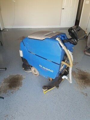 Columbus 66bm60 Floor Scrubber - Industrial Commercial Sweeper Floor Cleaner