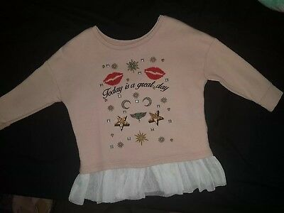 river island mini 6-9 months girls top