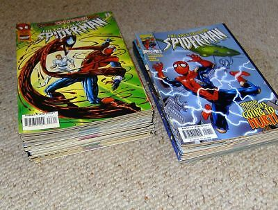 52 x THE SPECTACULAR SPIDER-MAN Nr. 203 - 254 in Serie