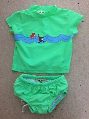 Baby swimmers with rashie size 000