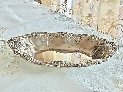 Fabulous Vintage Art Nouveau Style Silver Plated Tray Ranliegh C 1960's