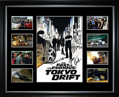 The Fast And The Furious Tokyo Drift  Limited Edition Framed Memorabilia