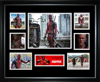 Deadpool Limited Edition Signed Framed Memorabilia