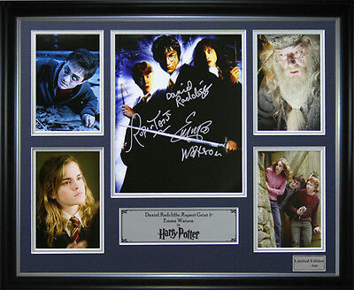 Harry Potter Signed Framed Memorabilia