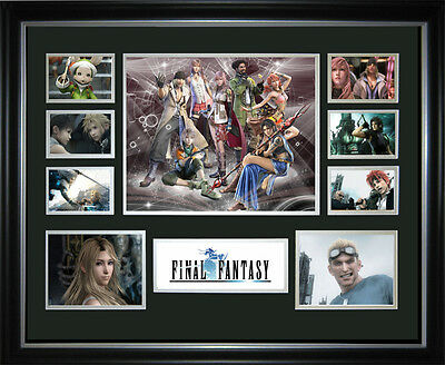 Final Fantasy Framed Memorabilia