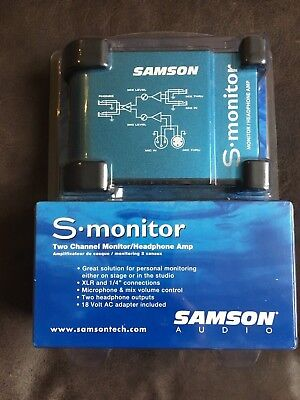 Samson S-Monitor - stage or studio monitor for singers.
