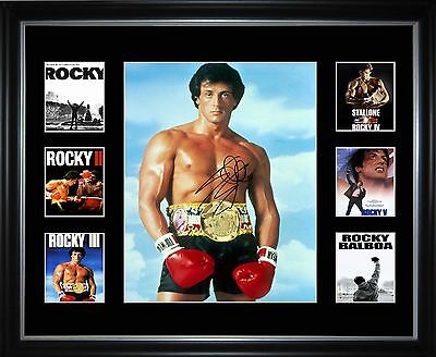 Rocky Movie Series Limited Edition Framed Memorabilia