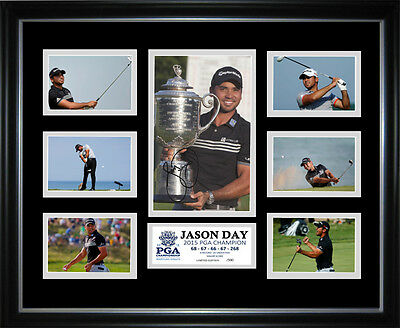 Jason Day PGA Champion Limited Edition Signed Framed Memorabilia