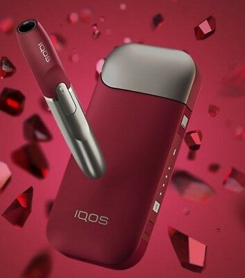 iQOS2.4 Plus Bluetooth Limited Edition Ruby Device With Vibration New Sealed