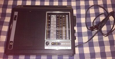 VINTAGE GE GENERAL ELECTRIC 7 Band RADIO Model 7-2964A TESTED & WORKING