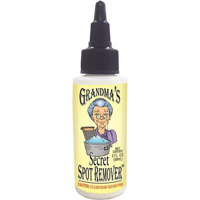 Grandma's Secret Spot Remover Clothes Remove Any Stain Grease Ink More 2 OZ New