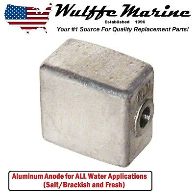 Aluminum Anode For Johnson Evinrude 90 115 150 175 200 225 250 HP 1982 & Up
