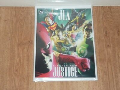 JLA Liberty and Justice 1 - DC 2003 - NM- - Treasury Size One Shot - Alex Ross